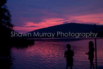 Sunset at Allegany State Park