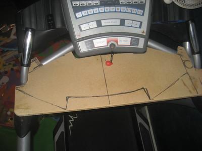 Lauren treadmill desk
