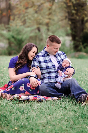 Courtney King Family - Newborn