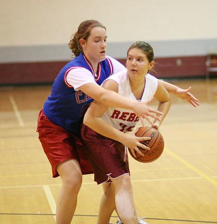 SNMS Girls Basketball vs Caston 2006
