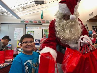 Santa Visits MSS