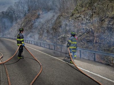 3-24-12 Brush Fire, Route 9