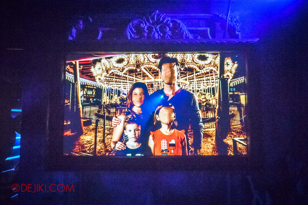 Halloween Horror Nights 6 - Bodies of Work / Shipman Family portrait distorted