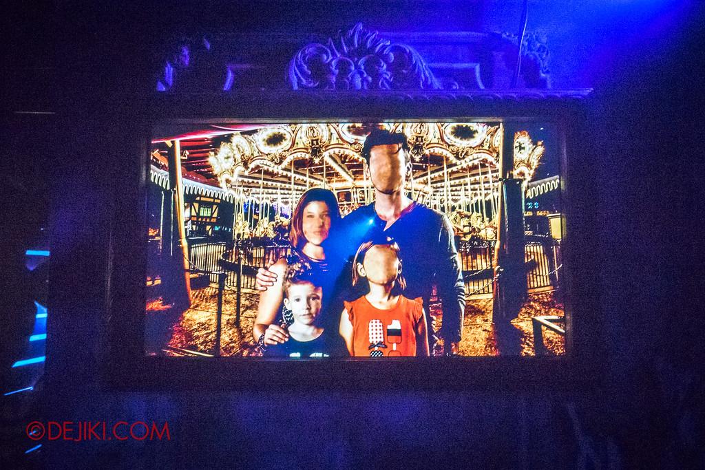Halloween Horror Nights 6 - Bodies of Work / Shipman Family portrait distorted