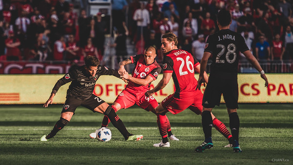 MLS TFCvDCU June 2018