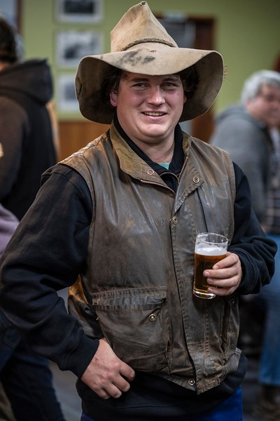 23yr old Branden love, (nickname Cyril) in the main bar of the Hopetoun pub on a Friday night, Branden lives in Hopetoun a small town in the Mallee region of Victoria and works for the local water board GWM,