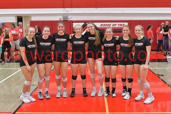 2018 CHS Volleyball - CR Prairie