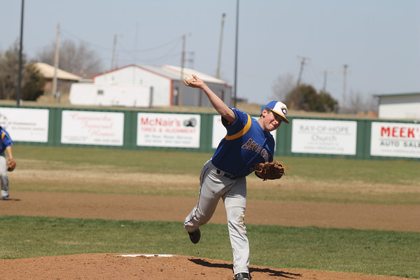 2014 Central High at Comanche baseball