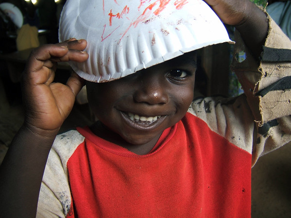 Little boy in Togo
