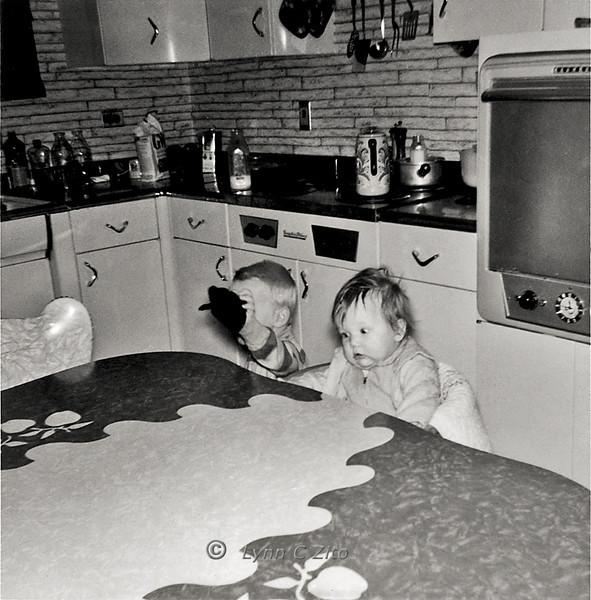 LYNN & MARK JANUARY 1958