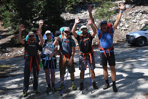Mt. Whitney Mountaineers Route Sept 1-2, 2017
