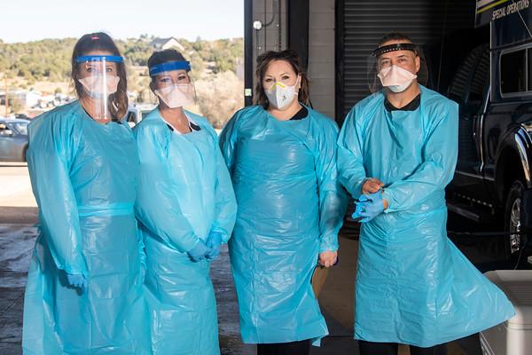 Mt. San Rafael Hospital Community Covid Testing Nov. 2020