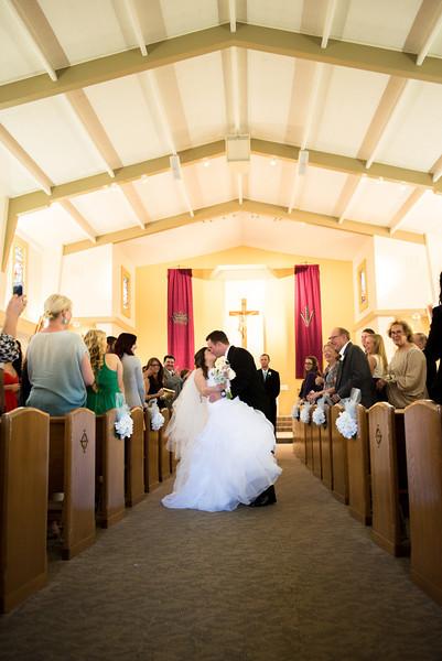 Gray Wedding Ceremony