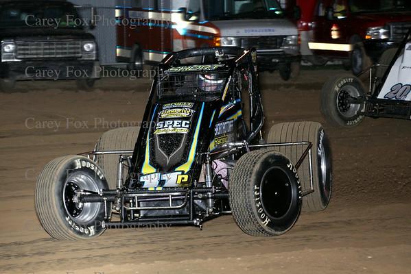 August 30, 2014 - Putnamville Clash - Sprint cars