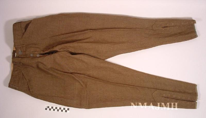 Leon Mirsky's WWI U.S. Army Breeches
