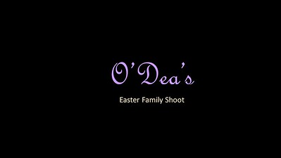 O'Dea's Family Easter Shoot