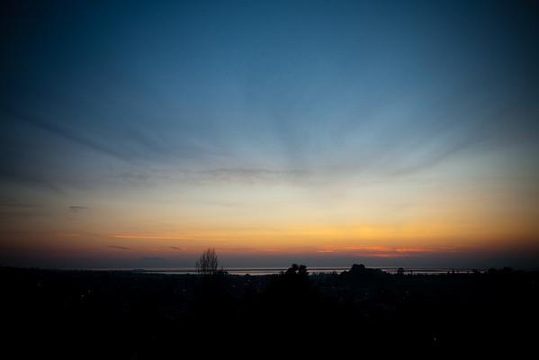 2010.02.17 Kenyon Estate Sunset