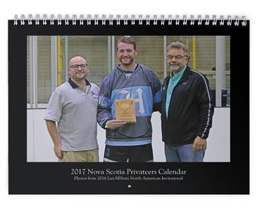 2017 Nova Scotia Privateers Calendar (photos from LASNAI2016)