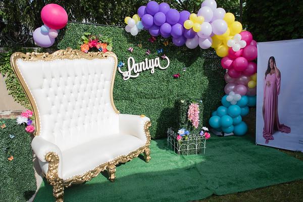 Lashonda & Josh's Baby Shower Enchanted Garden
