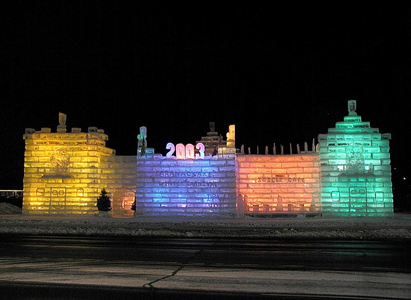 Winter Carnival Ice Palaces