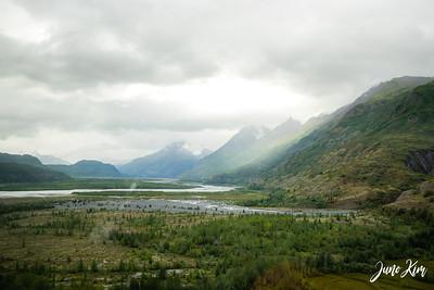 Knik Glacier Helicopter Landing