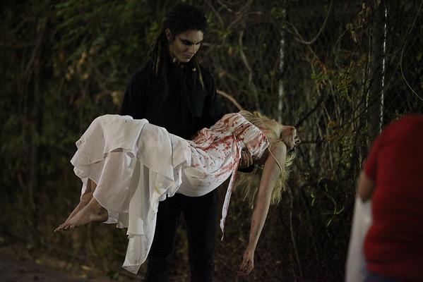 Trash the PROM Dresses- Halloween