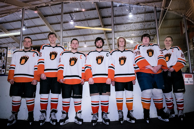 JGB Hockey Senior Night 2018  Parent/Player pictures