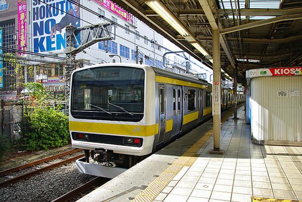 Chuo Line, Tokyo platform.jpg