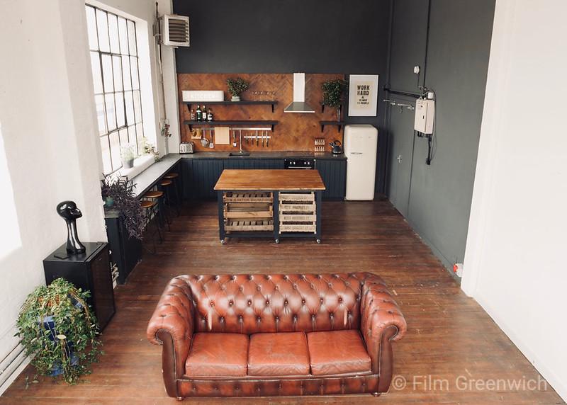 Crixus Studios - Studio Kitchen
