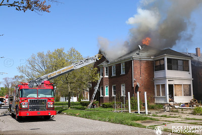 Occupied Dwelling Fire - 1837 Balfour Rd, Detroit, MI - 5/13/20