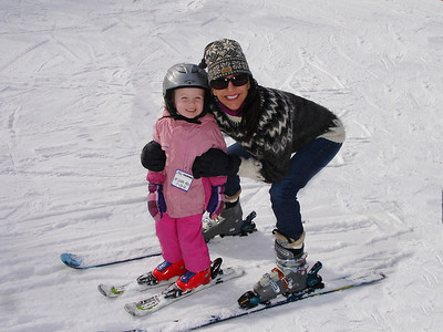 Kayla's Ski Lesson