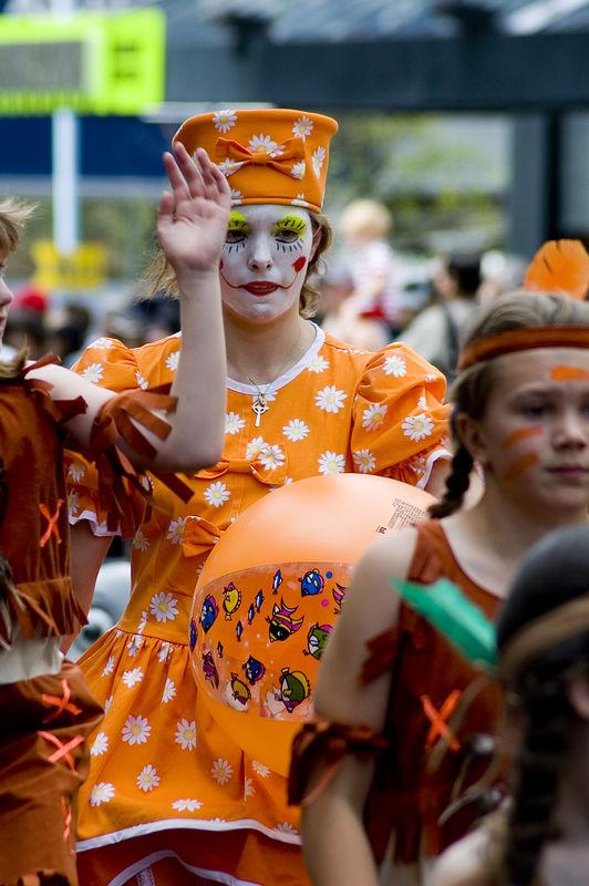 Howdy Santa Parade Auckland New Zealand - 27 Nov 2005