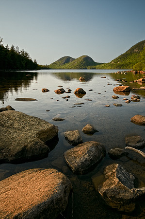 Jordan Pond and The Bubbles - Acadia National Park, Maine