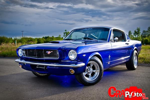 Chuck's Mustang/ John's Ford
