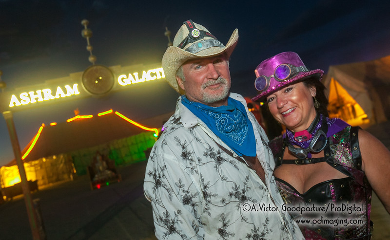 An evening of entertainment by Ashram Galactica. Many camps provided top-notch entertainment. . . along with copious amounts of alcohol. It's all part of the gifting concept that is Burning Man.