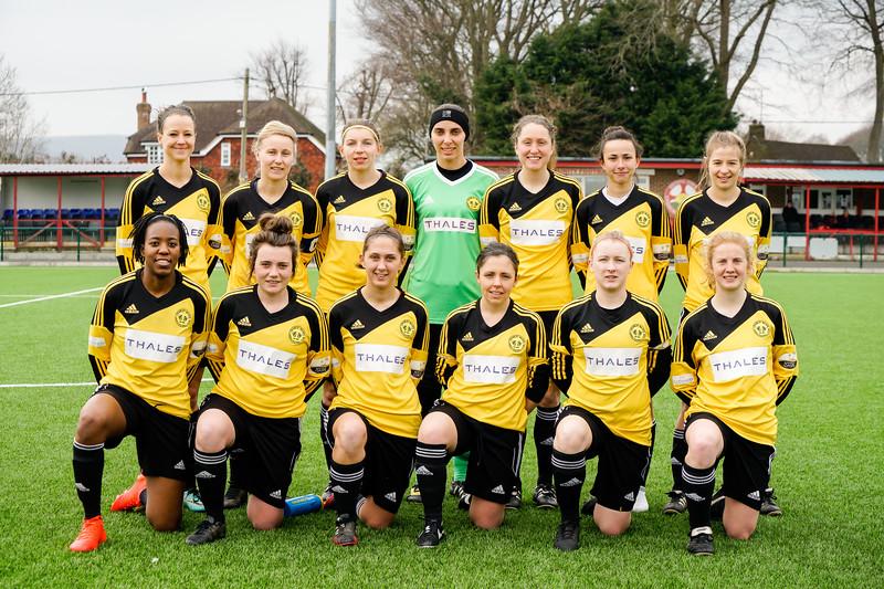 18.03.25. CWLFC vs Jersey Ladies
