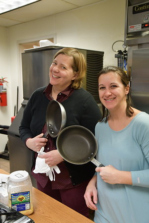 Norwood Teachers Bring their Skills to the Kitchen