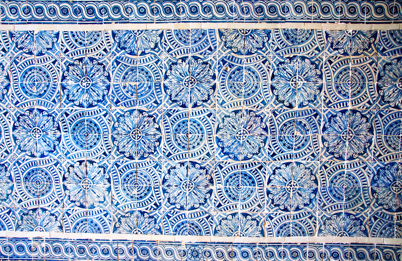 original Azulejos (painted ceramic tiles)