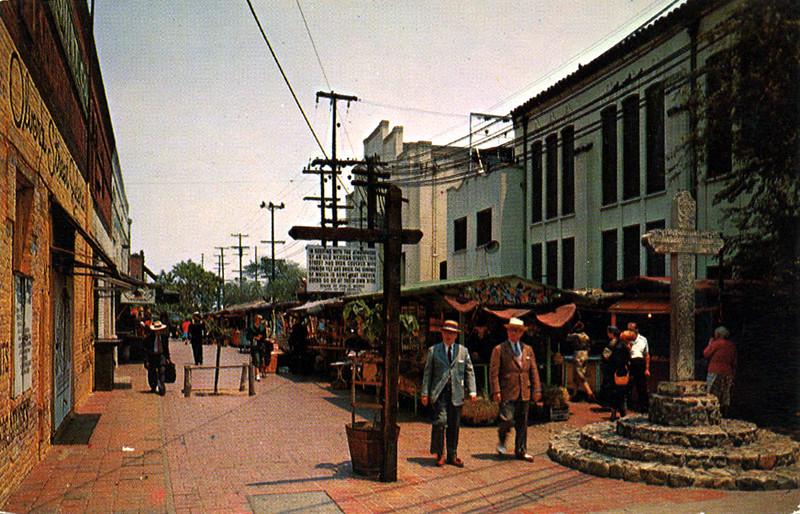 View Down Olvera Street
