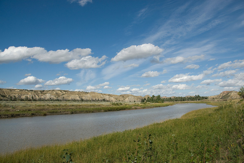 Little Missouri River at Theodore Roosevelt National Park