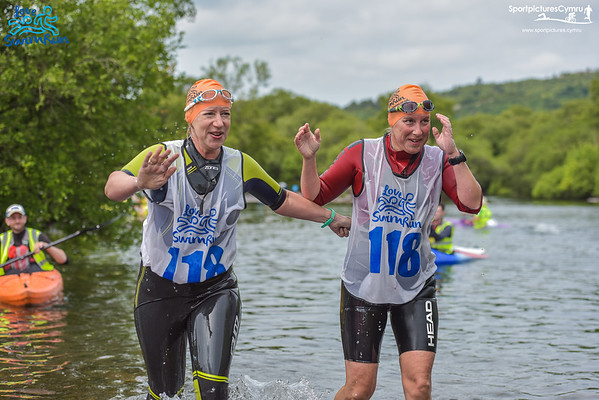 Love Swim Run - Finish Llyn Padarn