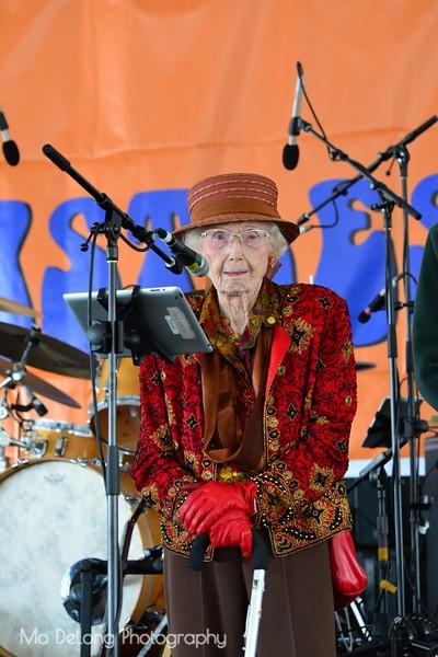 Pauline Anglemann, 110 years old