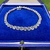 9.50ctw Round Brilliant Diamond Tennis Bracelet 38
