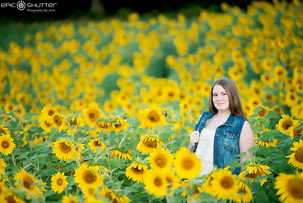 Alivia, Senior Portraits, Epic Shutter Photography