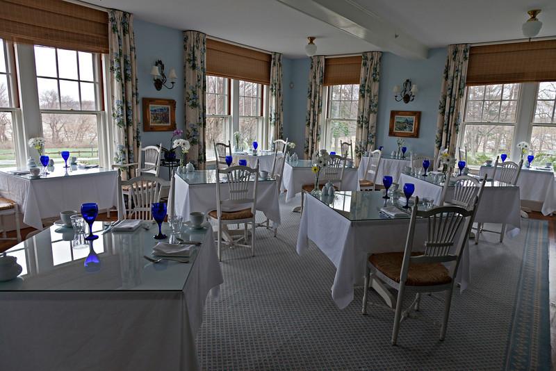 Inn at Castle Hill, breakfast room