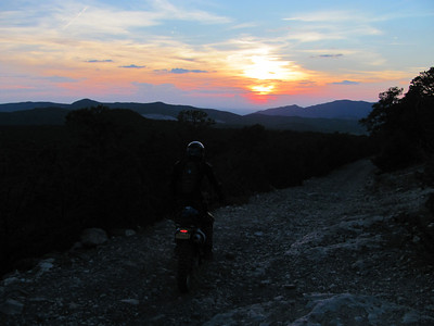 Cedro Peak area After Work DS Ride  8-15-12