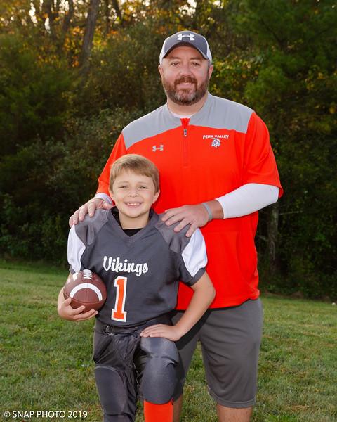 2019 Perk Valley Vikings Coach-Player Shots