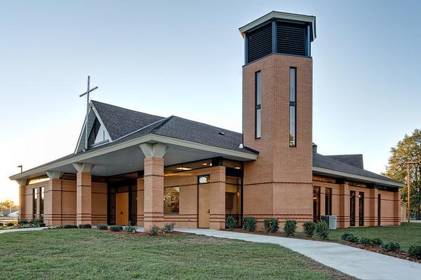 New sanctuary at St. Pius X - Shreveport, LA