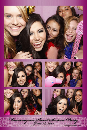Dominique's Sweet 16 Party