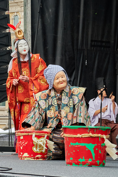 Iwami Kagura by the Otsu Kagura Troupe